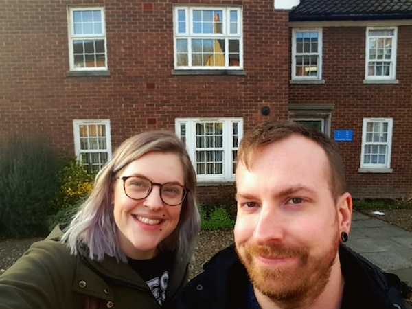 Bethan and Mike First time buyer mortgage customers